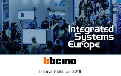 BTicino a ISE 2018
