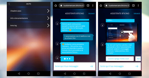 Assistente Virtuale via App