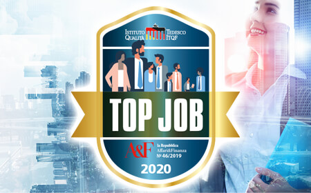 "BTicino premiata con ""Top Job 2019/2020"""